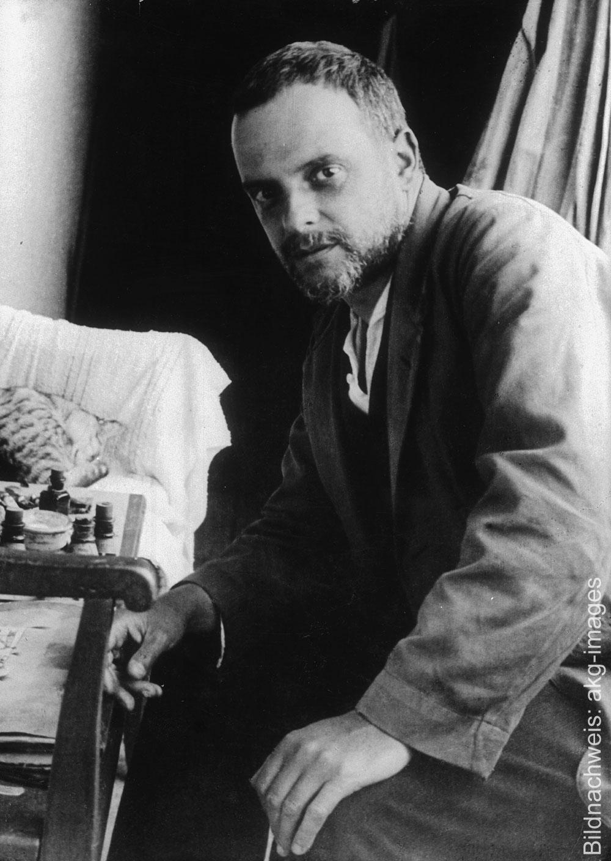 Porträt des Künstlers Paul Klee