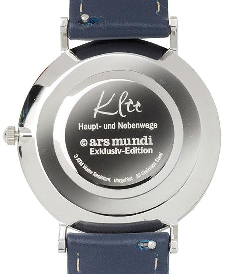 """Künstler-Armbanduhr """"Klee - Haupt- und Nebenwege"""""""