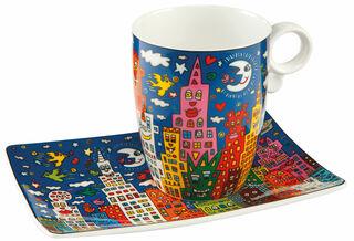 "Kaffeetasse ""My New York City Night"", Porzellan"