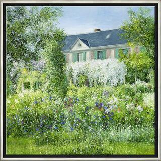 """Bild """"La Maison de Claude Monet à Giverny"""", gerahmt"""