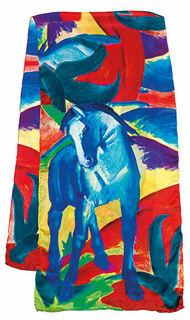"""Seidenschal """"Blaues Pferd"""" (1911)"""