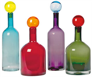 """8-teiliges Flaschenset """"Bubbles & Bottles"""", bunte Version"""