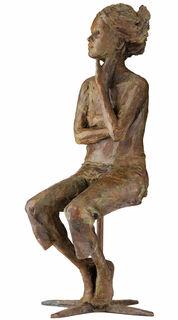 """Skulptur """"Was wäre wenn"""", Bronze"""