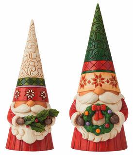 """2 Skulpturen """"Weihnachtswichtel"""" im Set, Kunstguss"""
