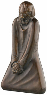 """Skulptur """"Der Zweifler"""" (1931), Reduktion in Bronze"""